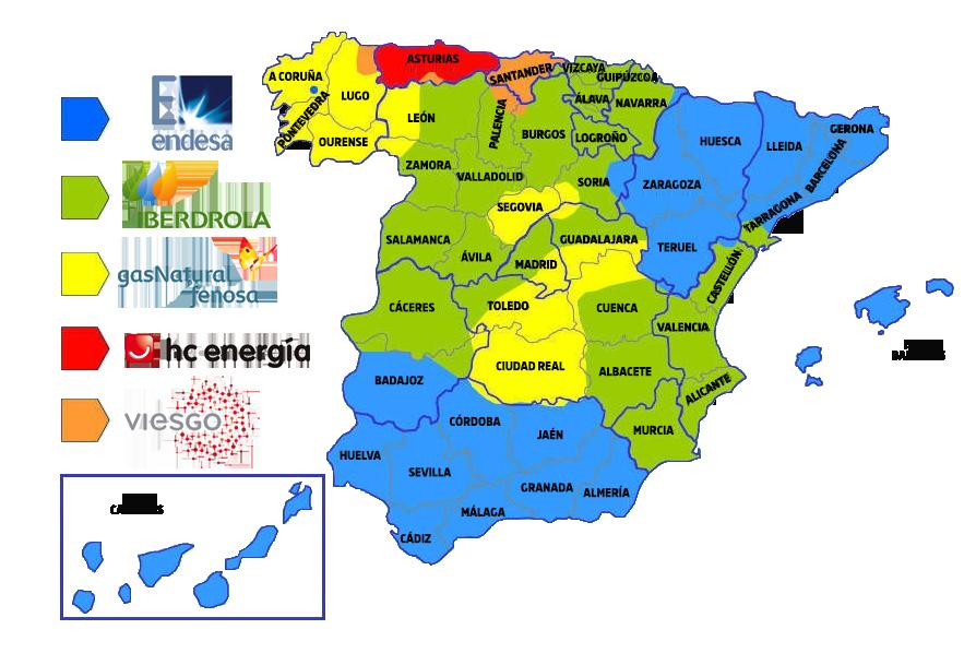 MAPA-DISTRIBUIDORAS-ELECTRICAS